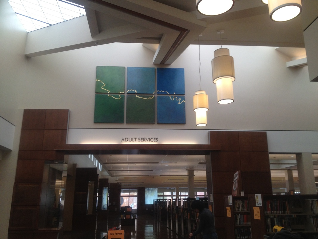 Alyson Kinkade Fine Art Public Art Placement Loveland Public Library